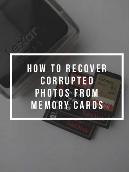 How To Recover Corrupted Photos From Memory Cards | EP 030
