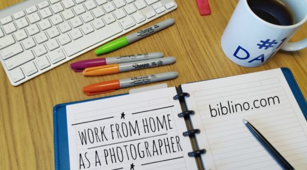 How to work from home as a professional photographer