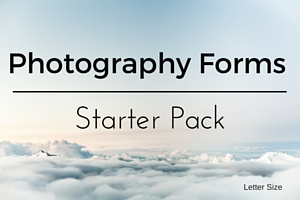 Ltr Photograhpy Forms-Starter Pack